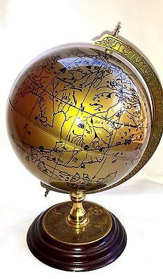 The ROYAL GEOGRAPHICAL SOCIETY World GLOBE 1991 DISCOVERY GLOBE Desk FM