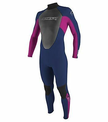 O'Neill wetsuits fille Reactor 3/2Full Rose Navy/Punkpink 16 [16] [Rose NEUF