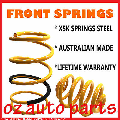 HOLDEN COMMODORE VT,VX,VY 6CYL 97-04 SEDAN ULTRA LOW 70mm FRONT LOWERED SPRINGS