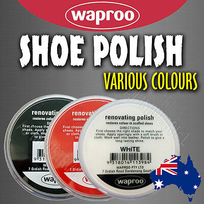 Waproo Renovating Shoe Polish perfect for restoring scuffed or faded leather