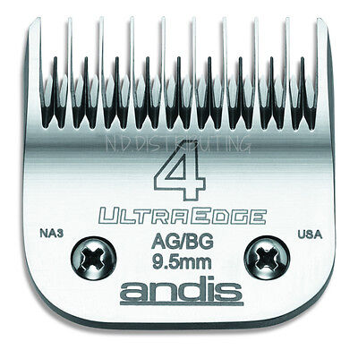 """Andis UltraEdge 4 Skip Tooth Clipper Blade Detachable Replacement # 64090 3/8"""""""