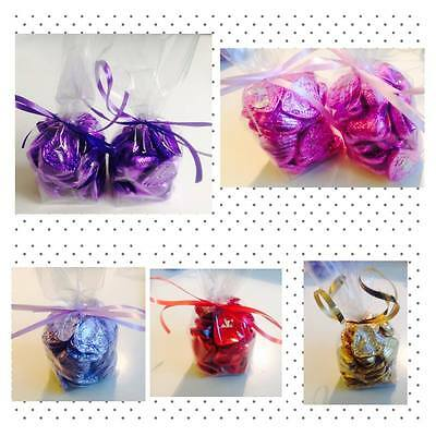 Foil Wrapped Finest Milk Chocolate Hearts Wedding Party Table Favours