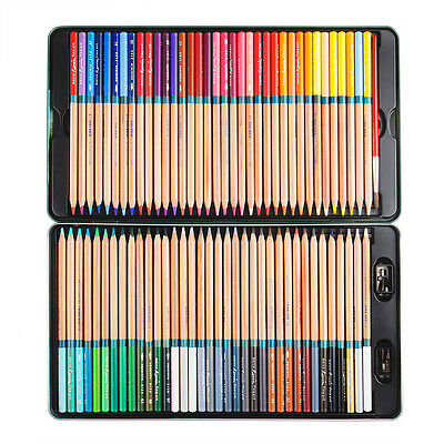 Marco Renoir Fine Art 72 Colored Drawing Water Color Non-toxic Wood Pencils Set