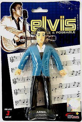 "Elvis Presley-Elvis '56-Bendable & Poseable 6"" figure-Collectable"