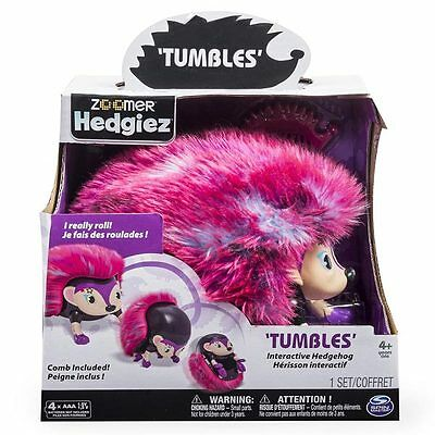 Zoomer Hedgiez Interactive Hedgehog Tumbles - Spinmaster 6024409
