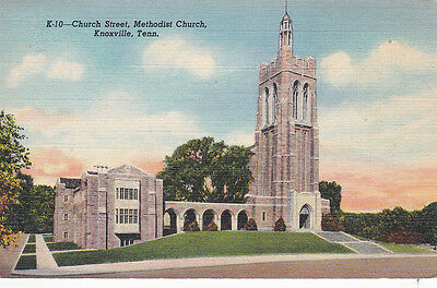 KNOXVILLE , Tennessee , 1943 ; Church Street , Methodist Church