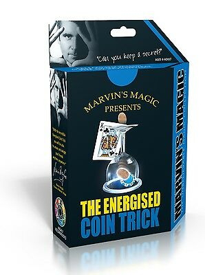 Marvin's Unbelieveable Magic Coin Tricks The Energised Coin Trick Kids Xmas Set