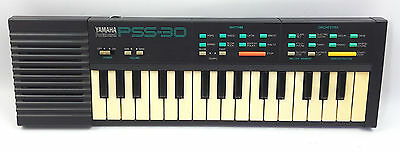 Yamaha Portasound Pss-30 Electronic Keyboard Working Vintage Made In Japan