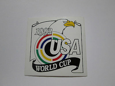 Vintage USA 1992 World Cup Shooting UIT ISSF Sticker