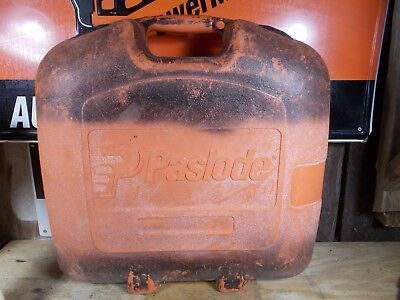 USED CASE  PASLODE Part #  900751 - Carrying Case for 900600 16 ga. angle nailer