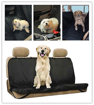 Dog Cat Pet Waterproof Front Back Rear Seat Car Cover Protector Mat Pad Safety