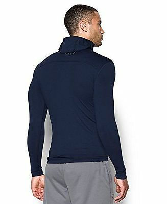 Under Armour 1280806 T-Shirt de protection thermique Homme Midnight Nav NEUF