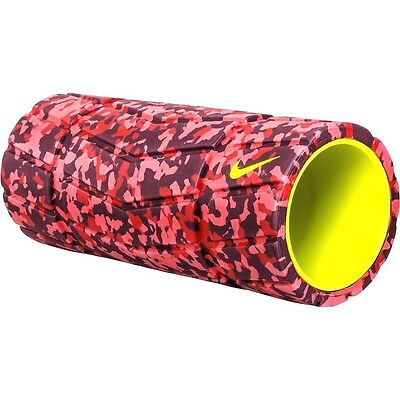 NEW Nike Textured Foam Roller - Training Yoga Muscle Exercise - Bright Crimson