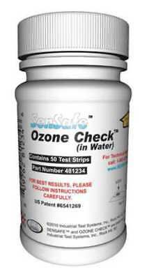 Test Strips,Ozone,0 to 0.5ppm,PK50 INDUSTRIAL TEST SYSTEMS 481234