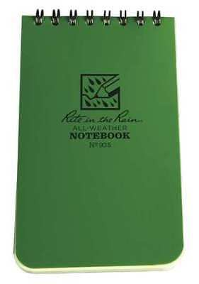 RITE IN THE RAIN 935 Pocket Notebook, Universal, 3 x 5 In