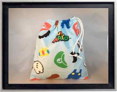 Gymnastics Leotard Grip Bags / Mario Brothers Gymnast Birthday Goody Bag