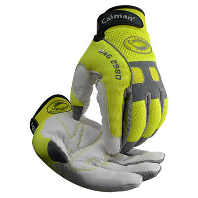 Caiman Size M Mechanics Gloves,2980-4