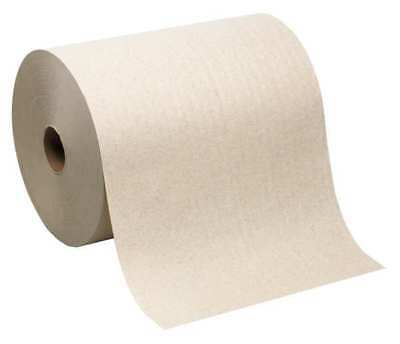 GEORGIA-PACIFIC 26480 Paper Towel Roll, SofPull, Br, 1000ft., PK6