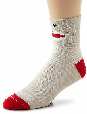 (TG. Grande/X-Large) Sockguy Calze classiche Multicolore Wool Monkey