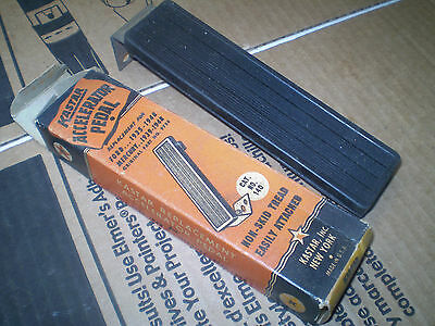 1935-36-37-38-39-40-41-42-46-47-48 Ford Gas Pedal In Box Vintage
