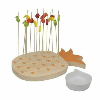 ARD'TIME Support brochette forme ananas 15 trous - Support a brochettes NEUF
