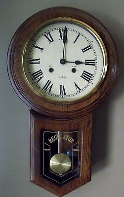 Wall Vintage 1930 69 Clocks Collectibles 2 505