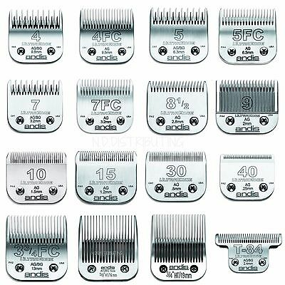 Andis Animal UltraEdge Clipper Blades Detachable Replacement Professional NEW