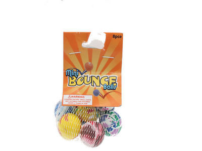 50 x 8 pack Mini Bounce Balls Kids Toy Stocking Stuffer Bulk Wholesale Lot