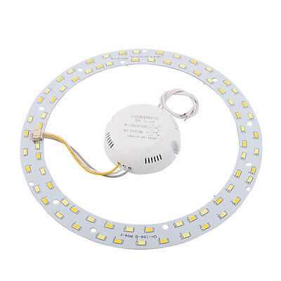 AC165-275V 72 LED 5730 SMD Ceiling Lamp Retrofit Plate Double Color Light Source