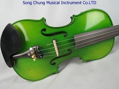 """beautiful green color 16"""" electric & acoustic viola"""