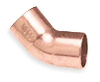 "1/4"" NOM C Copper 45 Degree Elbow NIBCO U606 1/4"