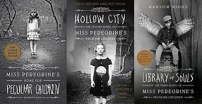 Miss Peregrines Home for Peculiar Children 3 Book Set Collection - Ransom Riggs