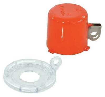 BRADY 130820 Push Button Lockout, 22mm, Plastic