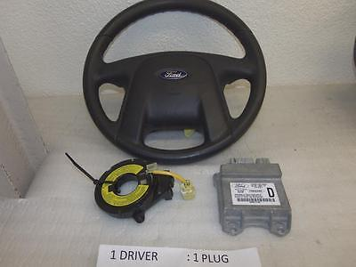 Iab13308 Ford Escape 2001-2002-2003-2004 No Cruise Airbag Steering Wheel Driver