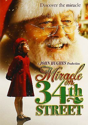 MIRACLE ON 34th STREET (1994) Christmas DVD  NEW FREE SHIPPING