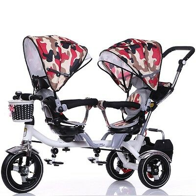 Pop Twins Stroller Baby Outdoors Ride-On Toy  Infant Pram Four Seasons Universal