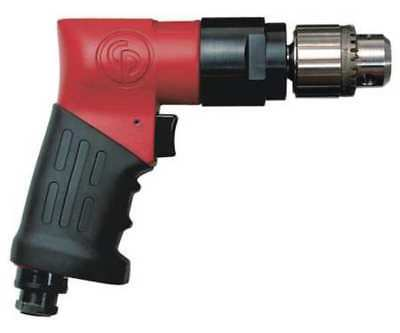CHICAGO PNEUMATIC CP9790 Air Drill,General,Pistol,3/8 In.