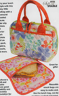 PATTERN - Out to Lunch - handy bags PATTERN - Patterns by Annie
