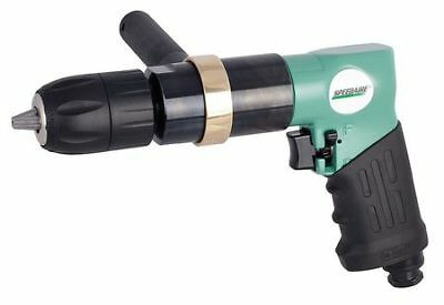 SPEEDAIRE 21AA74 Air Drill, Keyless, 1/2 In , 400 RPM
