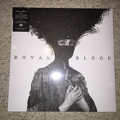 ROYAL BLOOD Limited Edition WHITE Vinyl LP Self Titled Album & Download code NEW