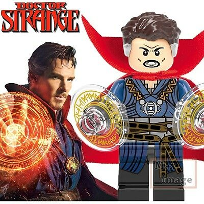 1pc Doctor Strange Minifigure Building Blocks Toy Marvel Custom Lego #363