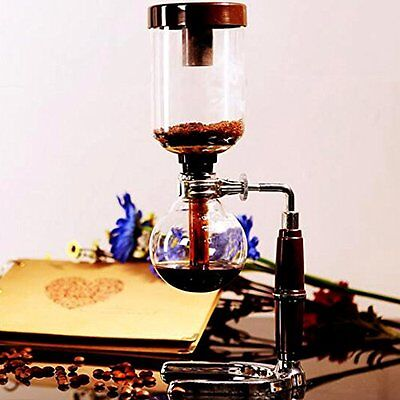 Boeng 5-Cup Coffee Syphon Tabletop Siphon Coffee Maker Heat Resistant glass