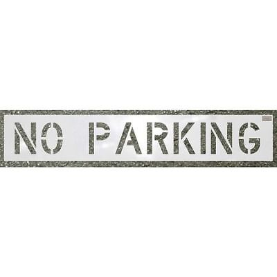 Stencil,No Parking,10 x 36 In. C.H. HANSON 70000
