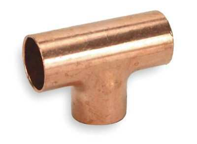 "1-1/4"" x 1-1/4"" x 1/2"" NOM C Copper Reducing Tee NIBCO 611 11/4X11/4X1/2"