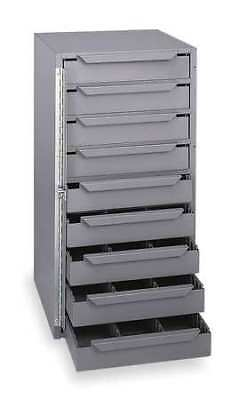 Storage Cabinet,12-5/8 in W,9 drawers