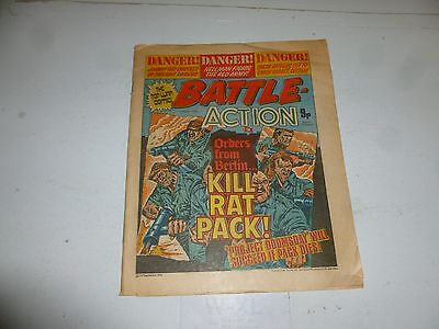 BATTLE ACTION Comic - Date 01/07/1978 - UK Paper Comic