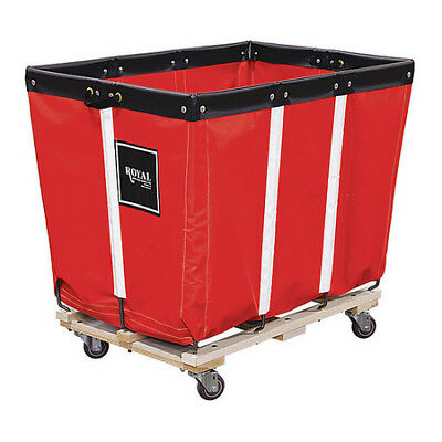 ROYAL G06-RRW-PMA-3UNN Basket Truck, 6 Bu. Cap., Red, 30 In. L