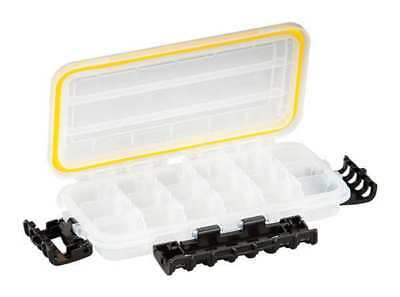 Compartment Box, Polypropylene, Clear, Plano Molding, 354010