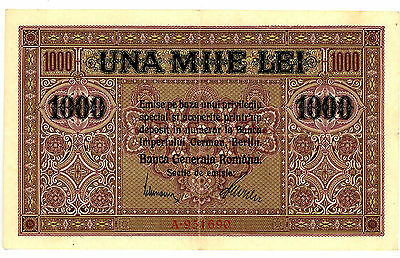 Romania ... P-M8 ... 1000 Lei ... ND(1917) ... *XF+*