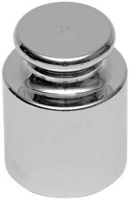 OHAUS 80850118 Calibration Weight, 1g, Stainless Steel
